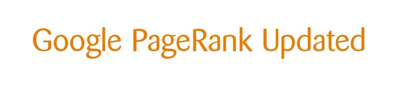 Google PageRank Updated