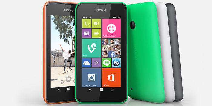Microsoft has launched Nokia Lumia 530 in India for Rs 7349