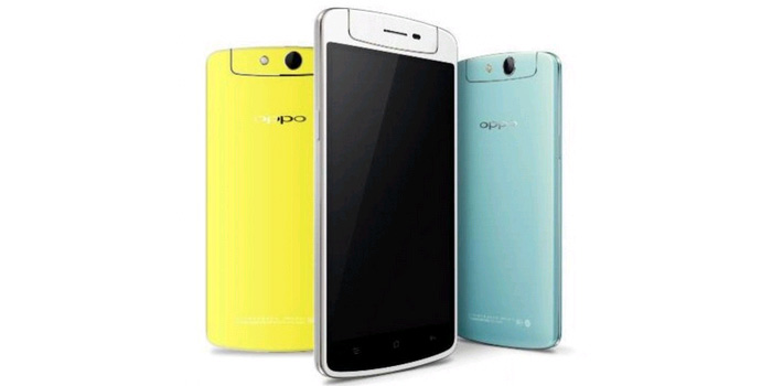 Oppo N1 mini with rotating camera launched in India for Rs 26990