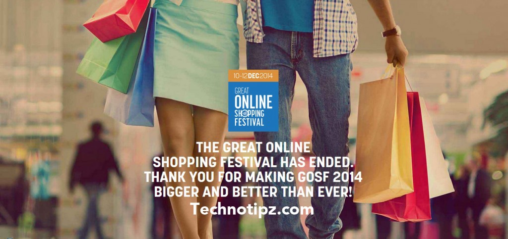 All about Great Online Shopping Festival by Google