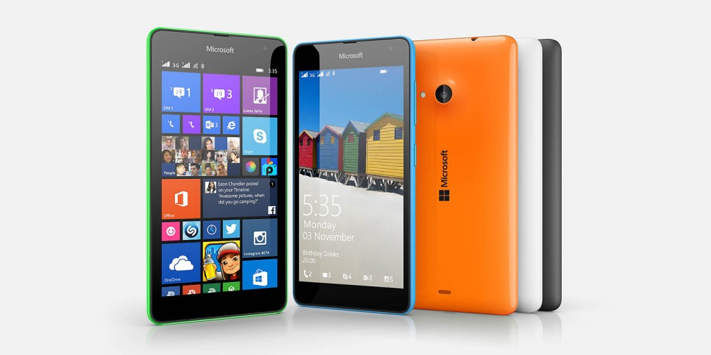 Bug fix for Microsoft Lumia 535 touch screen issues to come out on Dec 27