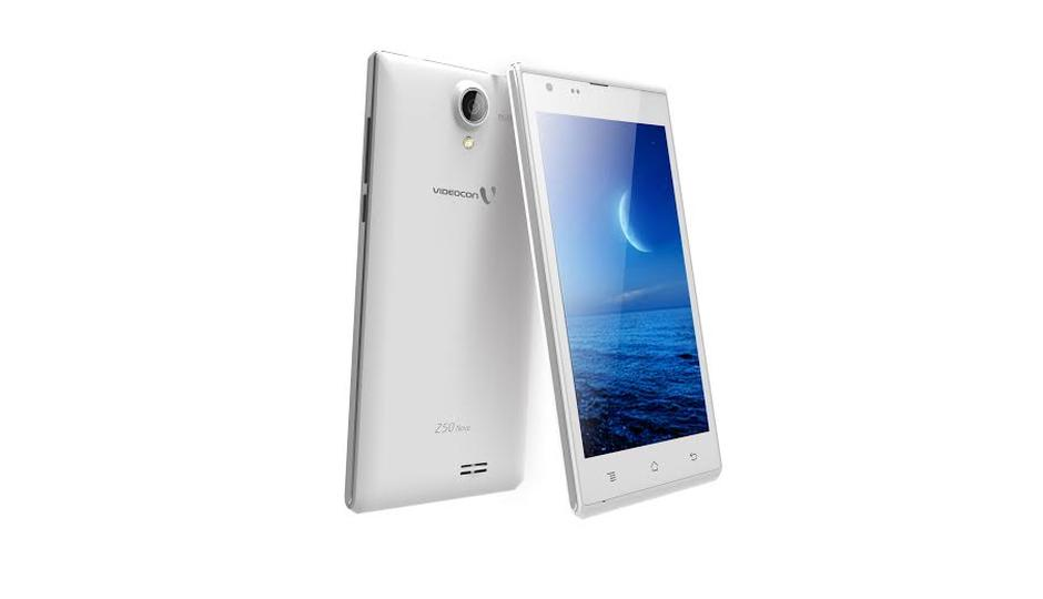 Videocon Infinium Z50 Nova launched in India at Rs 5995