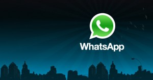 The WhatsApp is on the Via web browser