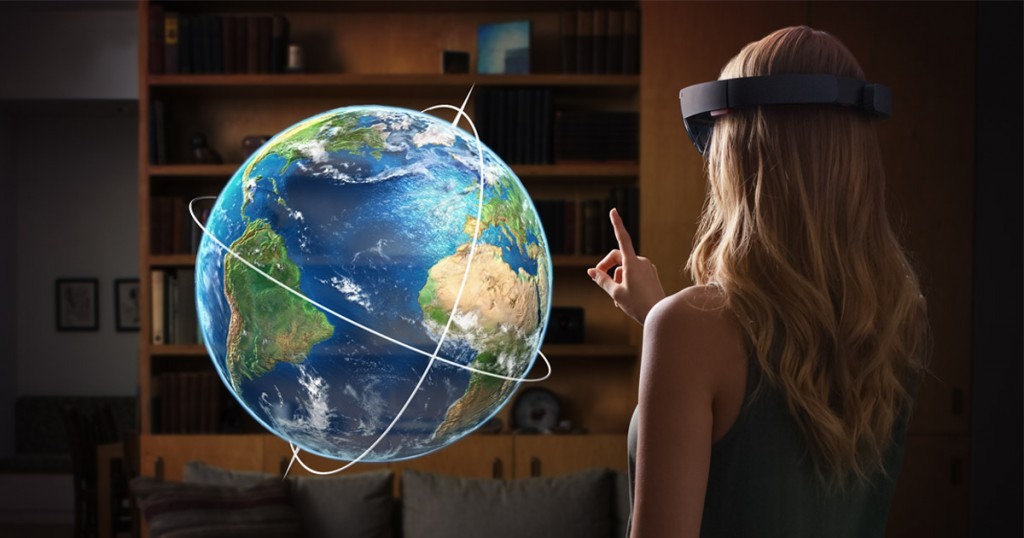 Microsoft HoloLens a sensational vision of PC's future