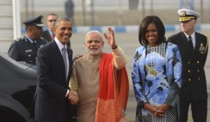 Obama soaks in Republic Day spectacle, gives thumb – up for BSF's Mototcycle stuntmen