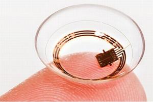Google smart contact lens to measure sugar levels?