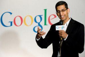 New CEO of Google is from India-born 'Sundar Pichai'