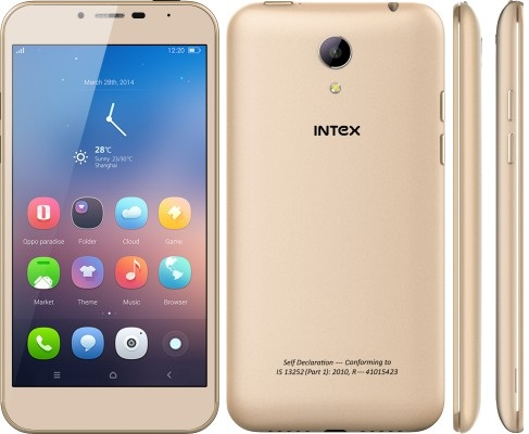 Intex Cloud 4G Star smartphone for Rs. 7,300