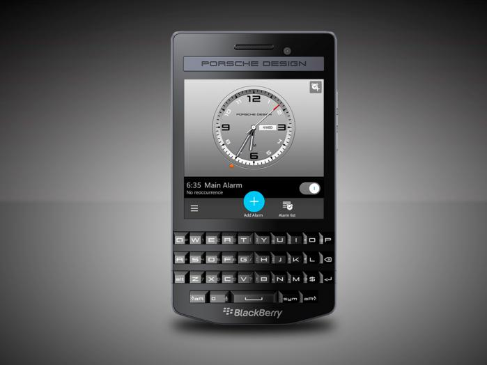 BlackBerry introduces Porsche Design P'9983 Graphite