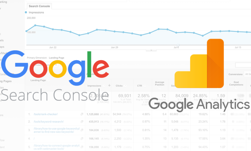 Google Search Console New Integration in Google Analytics