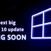 Next Microsoft's big Windows update