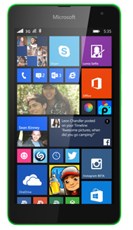 India import dummy units of Microsoft Lumia 535 from China.