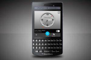 BlackBerry introduces Porsche Design P'9983 Graphite