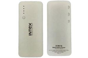 Intex started its new 11000mAh Power Bank – PB11K at Rs 1,099
